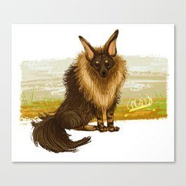 Brown Hyena Canvas Print