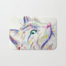 Color Cat Bath Mat