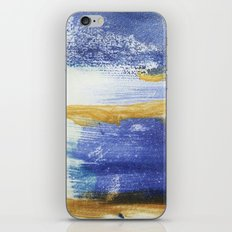 PAINTED WITH THE BLUES iPhone & iPod Skin