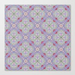 Lavender Hopscotch Canvas Print