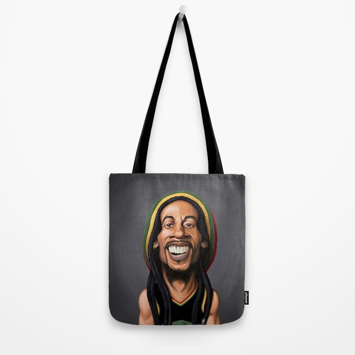 Celebrity Sunday - Robert Nesta Marley Tote Bag