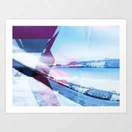 Winter in Tromsø Art Print