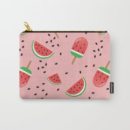 Summer Watermelon Ice Cream Carry-All Pouch