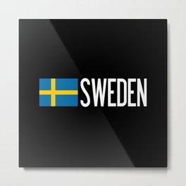 Sweden Metal Print