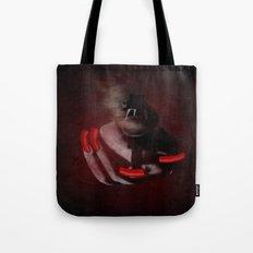 Grunge Bang Bang Red Nails  Tote Bag