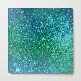 Mermaid Sparkles Metal Print