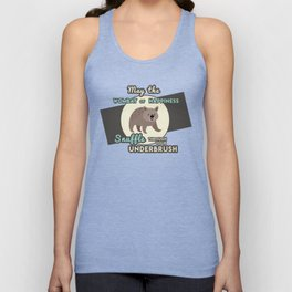 Wombat of Happiness Unisex Tank Top