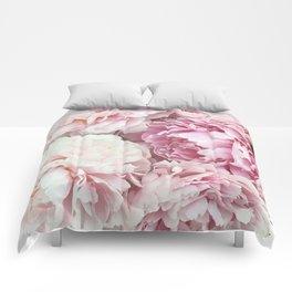 A bunch of peonies Comforters
