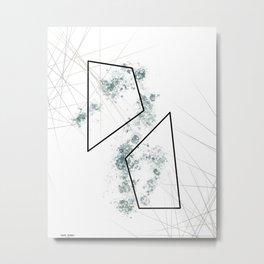 Romantic Geometry 2 Metal Print