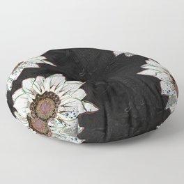 Pretty in White Floor Pillow