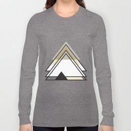 Minimalist Triangle Series 009 Long Sleeve T-shirt