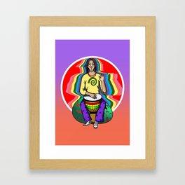 The Num Nums - Bobby Djembe Framed Art Print