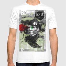 benito MEDIUM White Mens Fitted Tee