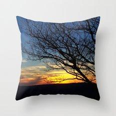 Shenandoah Sunset Throw Pillow
