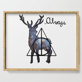 Deathly Hallows - Always Serving Tray