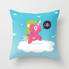 Oups...404! Throw Pillow