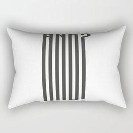 AND? Rectangular Pillow