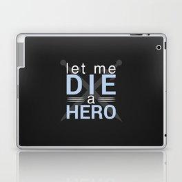 Die A Hero Laptop & iPad Skin