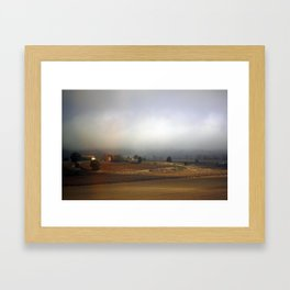 Tuscan Landscape #3. Between Florence and Rome. Framed Art Print