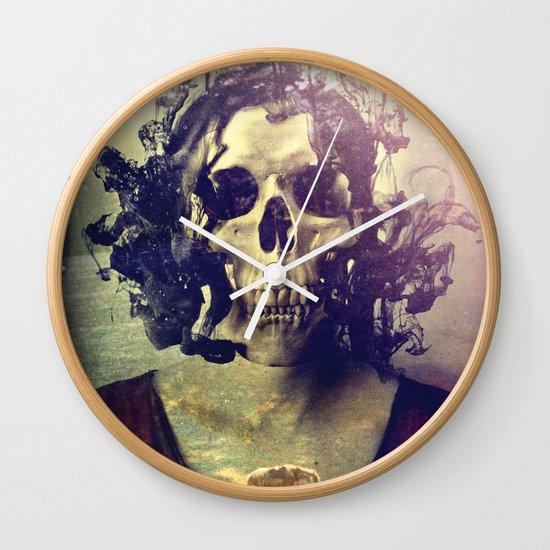 Miss Skull Wall Clock