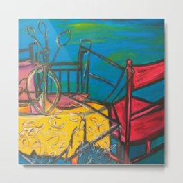 """Celebrations #society6 #decor #buyart  36"""" x 64"""" Oil on hand stretched canvas Metal Print"""