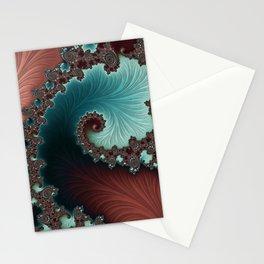 Velvet Crush - Teal/Copper Stationery Cards