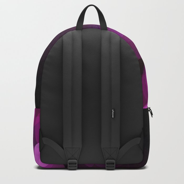Purple light abstract bokeh background Backpack