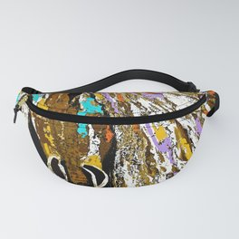 Horse Abstract Oil Painting Fanny Pack