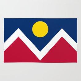 Denver, Colorado city flag - Authentic High Quality Rug
