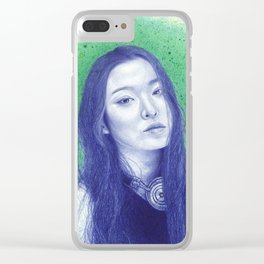 At the moss garden Clear iPhone Case