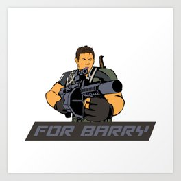 FOR BARRY Art Print