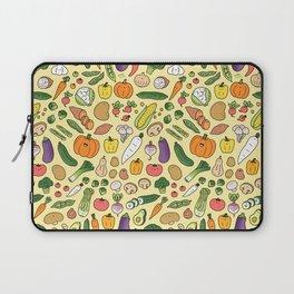 Veggie Friends Doodle Laptop Sleeve