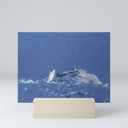 12,000pixel-500dpi - Bear Island Light - Arthur Bowen Davies Mini Art Print