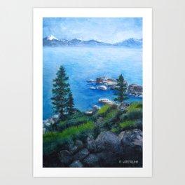 Lake Tahoe Lake of the Sky Art Print