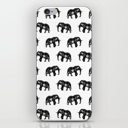 Cool Africa Pattern Elephant Picture iPhone Skin