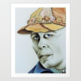 Ed Gein Art Print