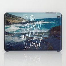 Be the Change iPad Case