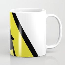 Flood Warning Sign High Risk Alert Weather Forecast Coffee Mug