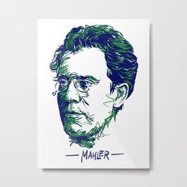 Gustav Mahler Metal Print