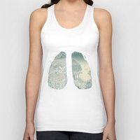 lungs Tank Tops featuring Lungs by Herds of Birds