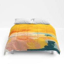 sunny landscape Comforters
