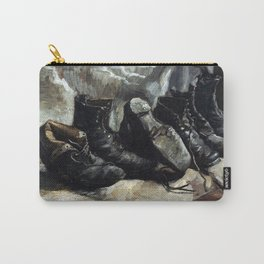 Vincent van Gogh Three pairs of shoes Carry-All Pouch
