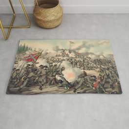 Civil War Assault on Fort Sanders Nov. 29 1863 Rug