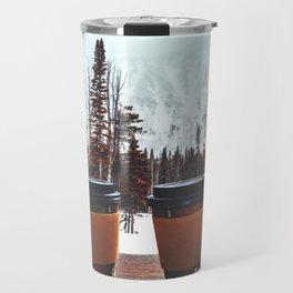 Snow, coffee and you * Travel Mug