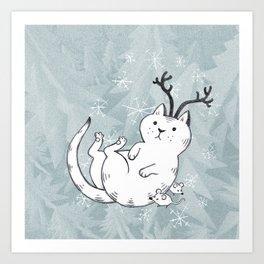 catmas Art Print