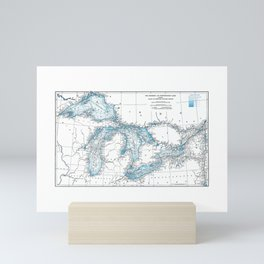 The Great Lakes Mini Art Print