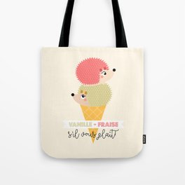 Vanille-fraise Tote Bag