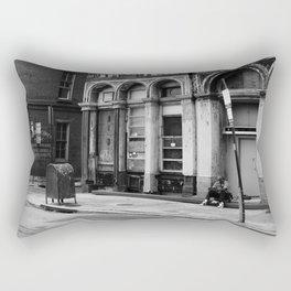 Philadelphia Streetlife Rectangular Pillow