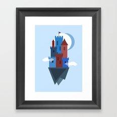 Sky Castle Framed Art Print