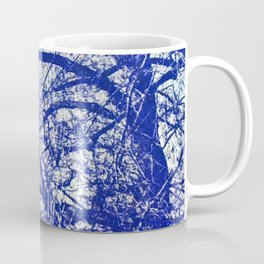 Solitary Tree in the Shadow of a Blue Moon Coffee Mug